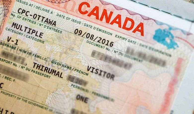 درخواست ویزای مولتیپل کانادا