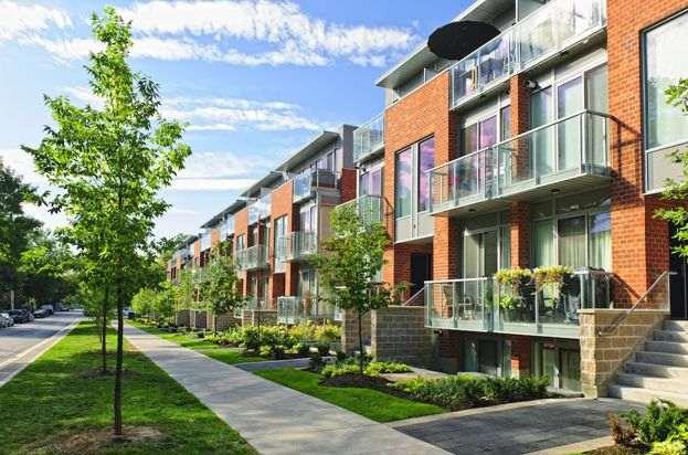 خانه های شهری در کانادا