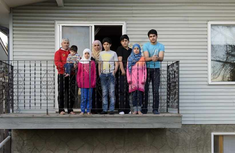 محل زندگی پناهندگان کانادایی