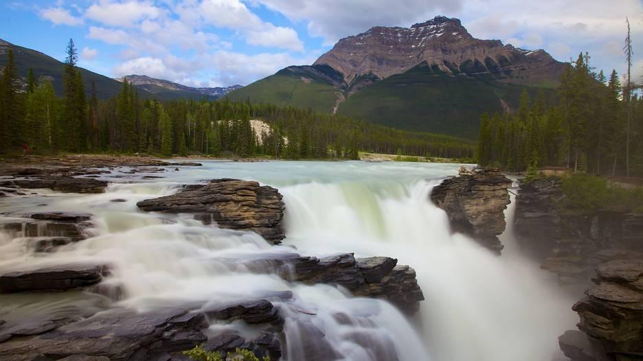 آبشار آتاباسکا کانادا
