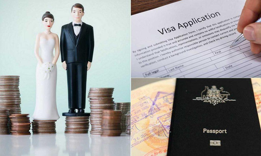 تقاضای ویزای ازدواج امریکا